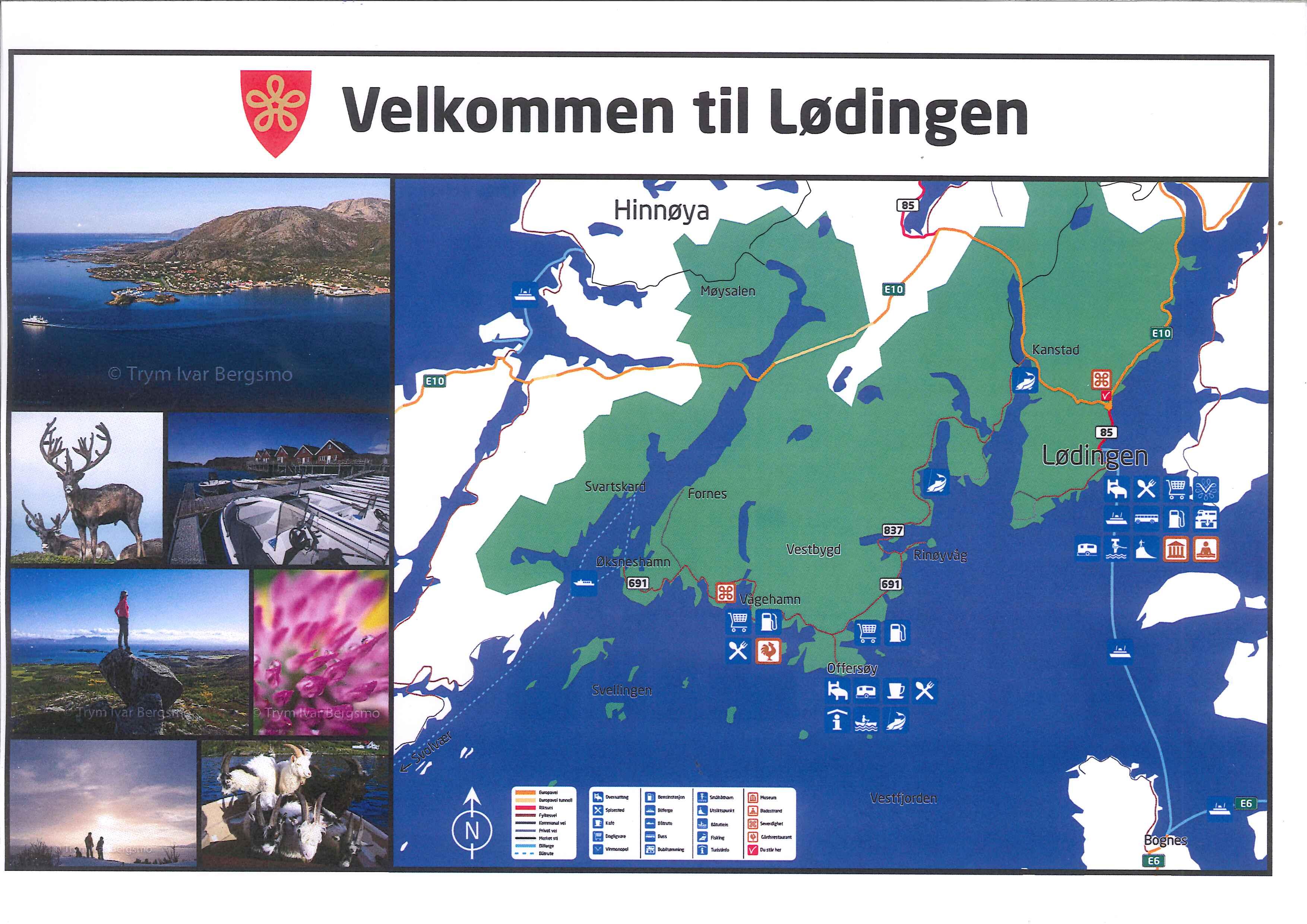 kart over lødingen Lødingen Næringsforum » Lødingen har fått nye turistskilt kart over lødingen