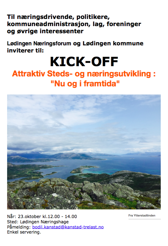 Kick-off Lødingen
